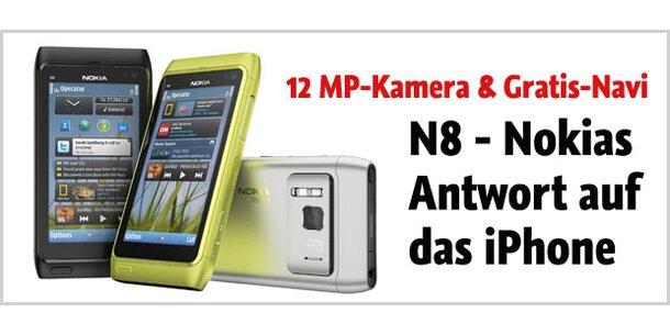 Nokia N8 bekommt ein Amoled-Display