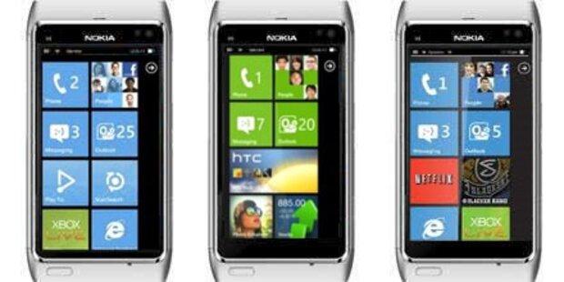 Windows-Smartphones von Nokia erst 2012