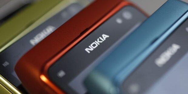 Nokia führt weltweiten Handy-Markt an