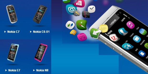 Endlich: Nokia rollt Symbian