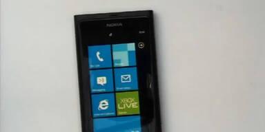 Video: 1. Nokia-Handy mit Windows Phone 7