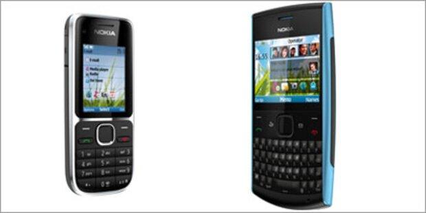 Schnäppchen-Duo: Nokia X2- & C2-01