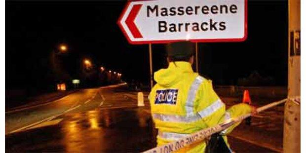 Angriff auf Kaserne in Nordirland
