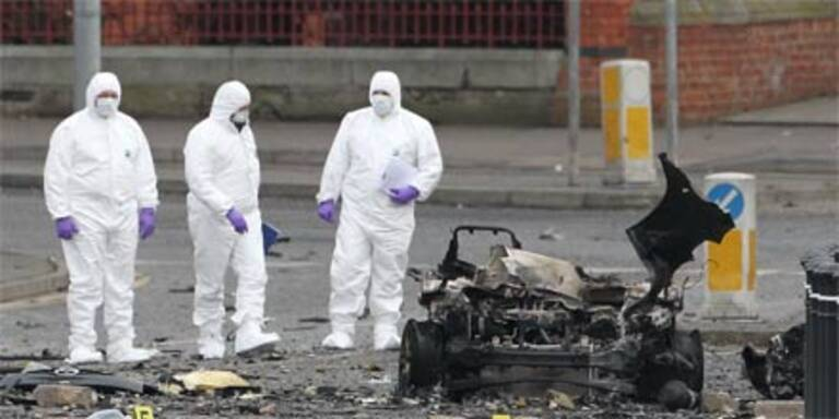 IRA bombt wieder in Nordirland