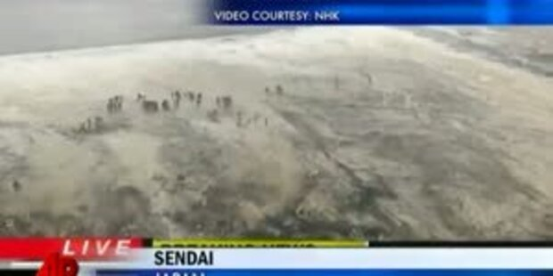 Nächste Horrorwelle überspült Nordjapan