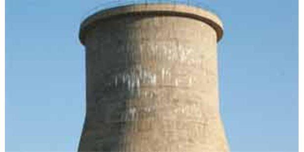 Nordkoreanischer Kühlturm gesprengt