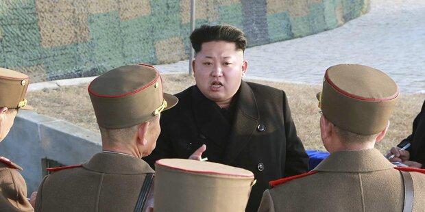 Irrer Kim droht USA mit Atomschlag