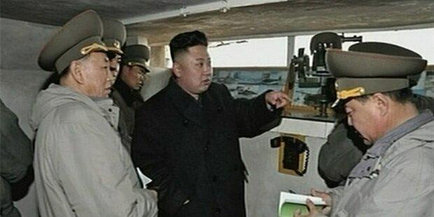 Nordkorea kappt