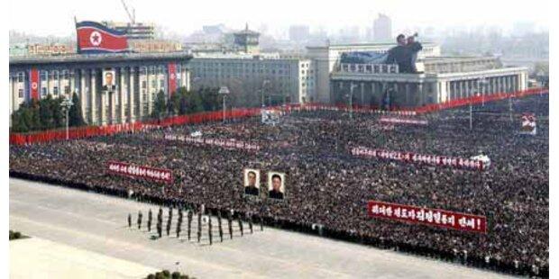 Nordkorea feiert Raketenstart