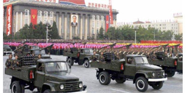Nordkorea teste Raketentriebwerk