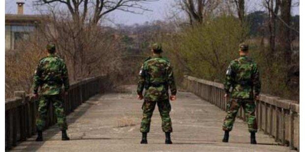 Nordkoreas Armee ist kampfbereit