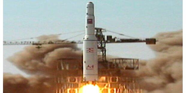 Nordkorea feuert zwei weitere Raketen ab