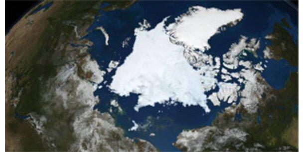 Eis am Nordpol massiv geschmolzen