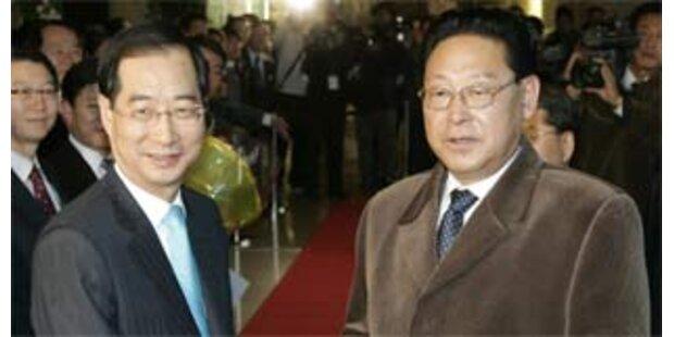 Nordkoreas Regierungschef in Südkorea eingetroffen