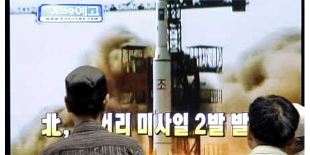 Nordkorea feuerte mehrere Raketen ab