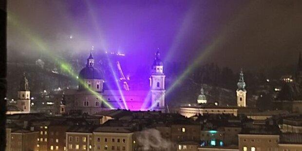 Silvester in der Stadt Salzburg