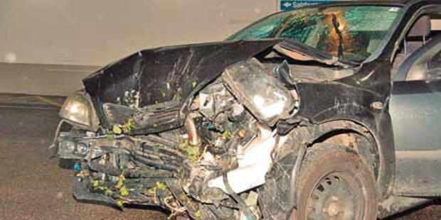 Neun Verletzte nach Unfällen auf A1