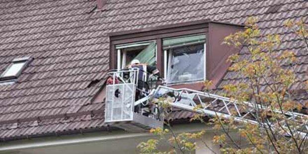 Vier Verletzte bei Gas-Explosion