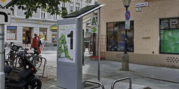 Erste Solartankstelle Österreichs in Salzburg eröffnet