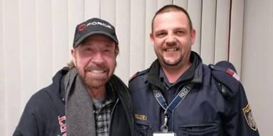 Kärntner Polizei schnappt sich Chuck Norris