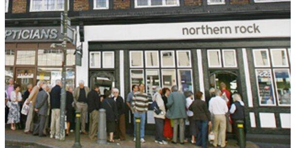 Northern-Rock-Kunden leeren ihre Konten