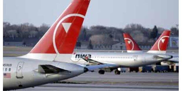 Reifenplatzer bei Flugzeuglandung