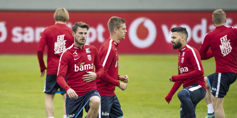 Viele Warnungen vor Norwegens B-Team