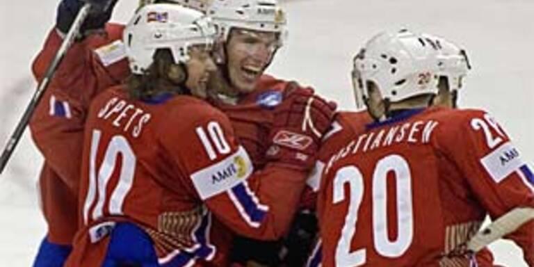Norwegen trotz Debakel im Viertelfinale