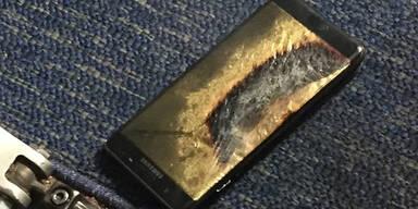 Feuersichere Verpackung für Samsung-Rücksendungen