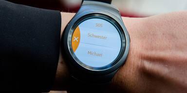 Samsung-Smartwatch mit Notruf-App