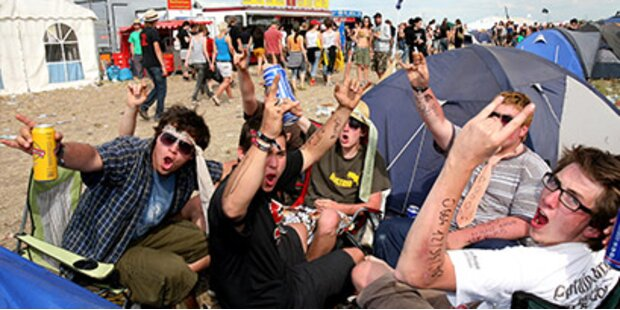 Polizei stoppt illegale Nova-Rock-Treffen