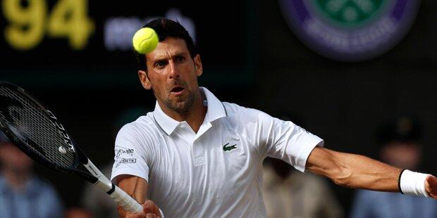 Wimbledon-Wahnsinn: Djokovic siegt in 5-Stunden-Krimi