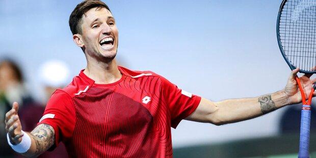 Davis-Cup: ÖTV-Team steht im Madrid-Finale!