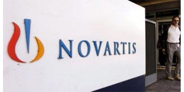 Protestaktionen gegen Novartis-Schließung