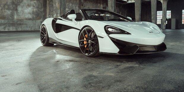 McLaren 570S Spider wird noch schärfer