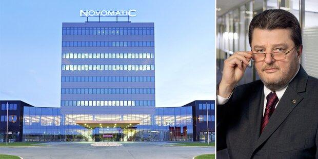 Novomatic plant Börsengang im Herbst