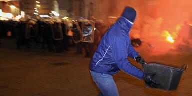 Die Fotos der Krawallnacht