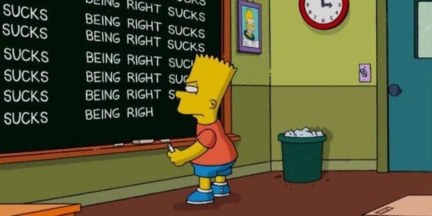 Simpsons bereuen Trump-Vorhersage