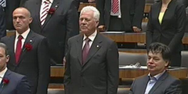 Parlament: Neulinge sorgten für Eklats