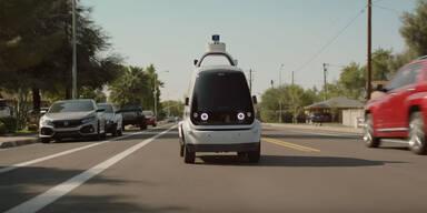 Start-up darf Robo-Autos ohne Fahrer testen