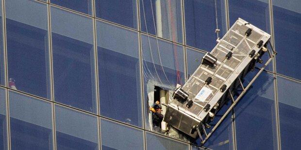 Fensterputzer am 69. Stock  abgestürzt