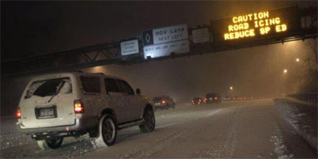 Blizzard legt US-Ostküste lahm