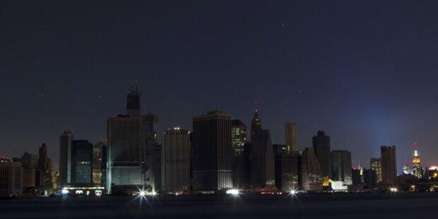 Video: Hier gehen New Yorks Lichter aus