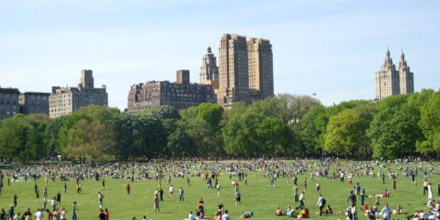 NY verbietet Rauchen im Park