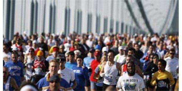 Zwei Läufer starben beim New York-Marathon