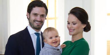 Prinz Carl Philip, Prinzessin Sofia & Prinz Alexander
