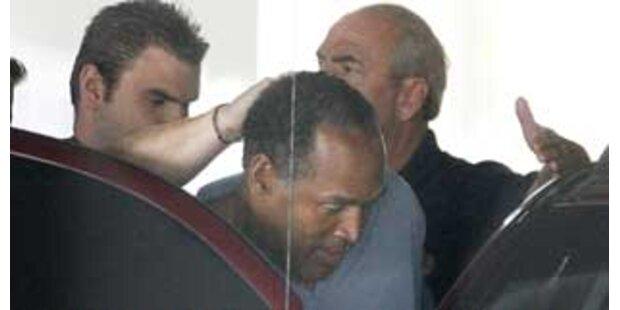 O.J. Simpson wegen Raubes und Entführung angeklagt
