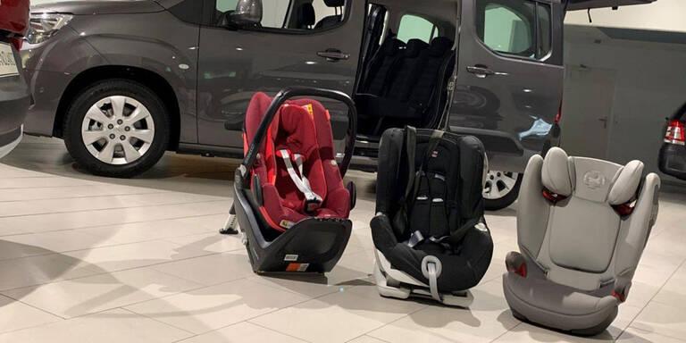 Diese Familienautos sind kindersitztauglich