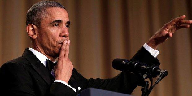 Obama witzelte über Trump, andere und sich selbst
