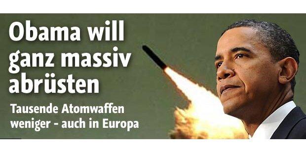 Obama will ganz massiv abrüsten